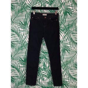 Madewell Dark Wash Alley Straight Jeans 29
